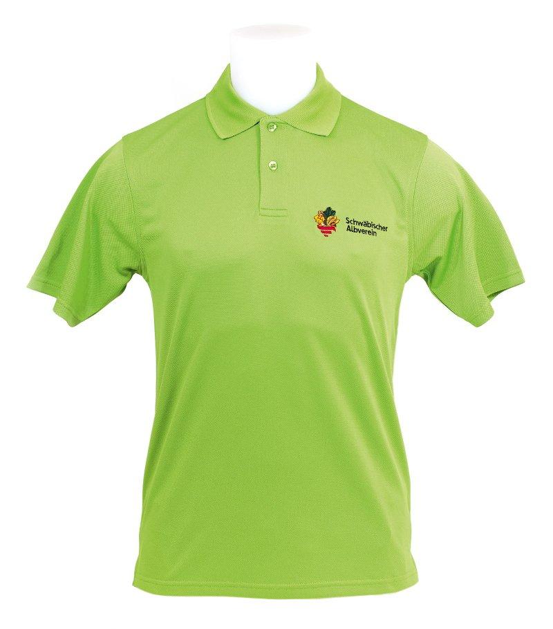 buy popular a2bd6 87aba AV-Funktions-Poloshirt Hellgrün Gr. 3XL