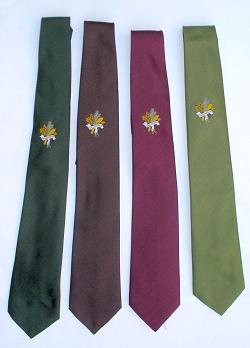 AV-Krawatte Tradition Tannengrün