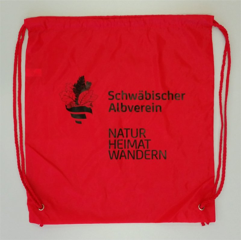 AV-Outdoorbeutel Natur-Heimat-Wandern Rot