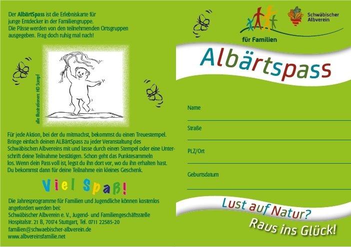 Kinderpass ALBärtSpass