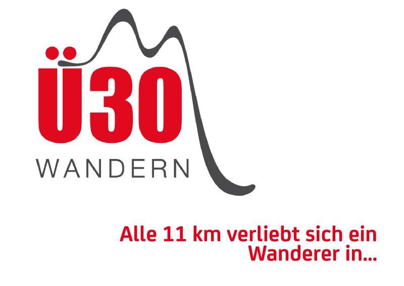 Ü30 Wandern - Alle 11 km verliebt sich ein Wanderer in...