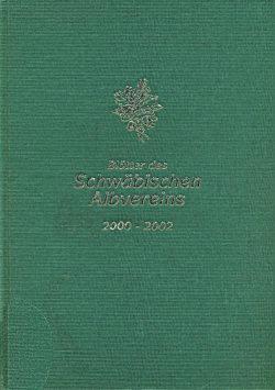 Gebundene Blätter des Schwäbischen Albvereins (2000-2002)