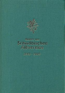 Gebundene Blätter des Schwäbischen Albvereins (2003-2005)