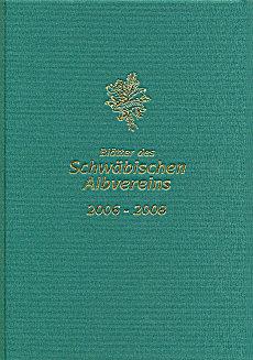 Gebundene Blätter des Schwäbischen Albvereins (2006-2008)
