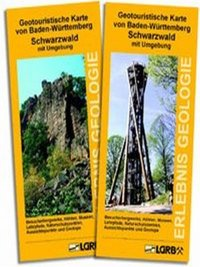 Geotouristische Karte von Baden-Württemberg - Schwarzwald mit Umgebung (Südwest)