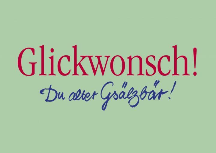Glickwonsch