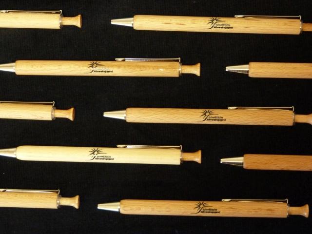 Holz-Kugelschreiber Albvereinsjugend