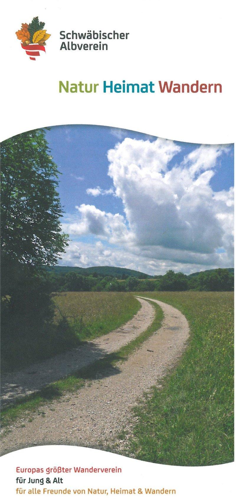 Image-Flyer Schwäbischer Albverein