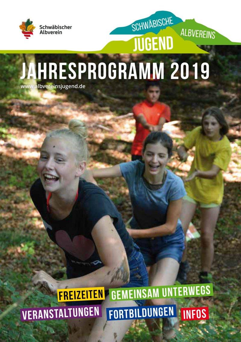 Jahresprogramm 2019 Albvereinsjugend