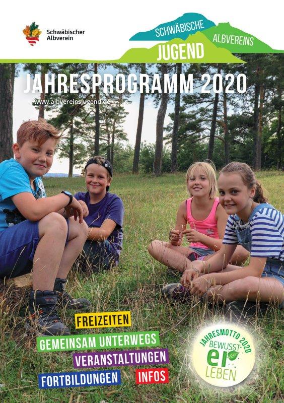 Jahresprogramm 2020 Albvereinsjugend