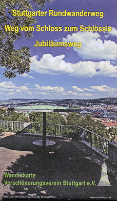 Stuttgarter Rundwanderweg - Weg vom Schloss zum Schlössle - Jubiläumsweg