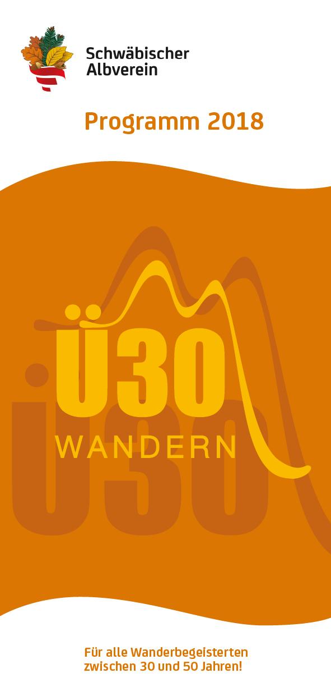 Ü30 Wandern - Programm 2018