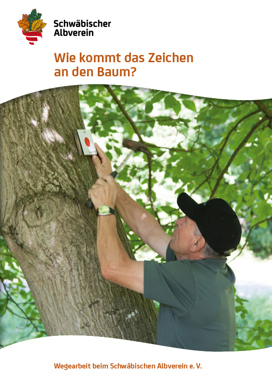 Wie kommt das Zeichen an den Baum?