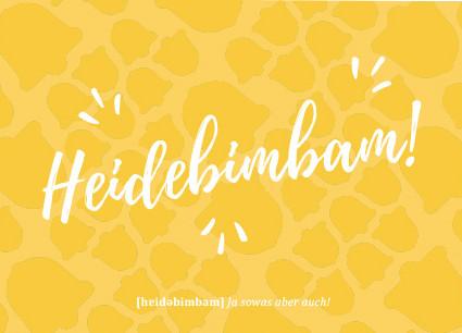 Heidebimbam