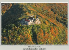 Burg Hohenneuffen im Herbst