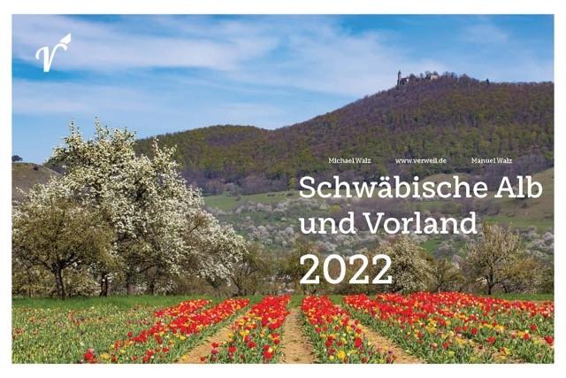 Schwäbische Alb und Vorland 2022 - Cover