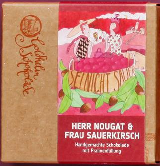 Herr Nougat und Frau Sauerkirsch - Canache - ca. 100g