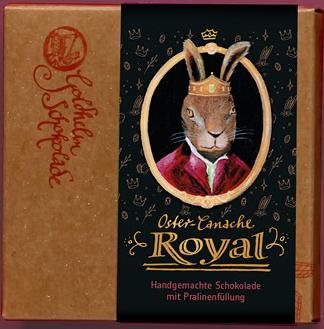 Oster-Schokolade Royal - Canache - ca. 100g