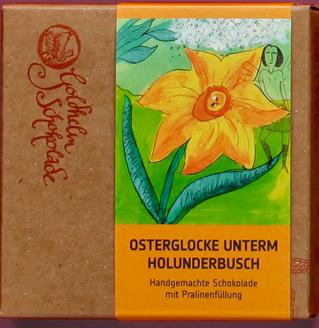Osterglocke unterm Holunderbusch - Canache - ca. 100g