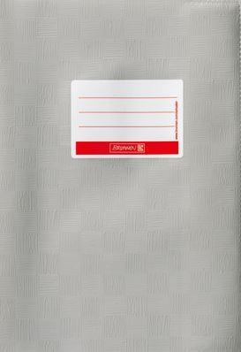 Hefthülle A4 grau Folie mit Schild 104052480