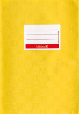 Hefthülle A5 gelb Folie mit Schild 104052510