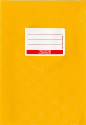 Hefthülle A5 goldge Folie mit Schild 104052516