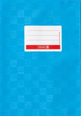 Hefthülle A4 mittelblau Folie mit Schild 104052434