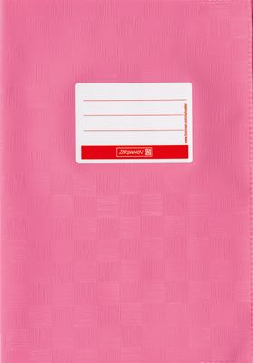 Hefthülle A5 rosa Folie mit Schild 104052545