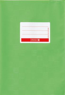 Hefthülle A5 hellgrün Folie mit Schild 104052553