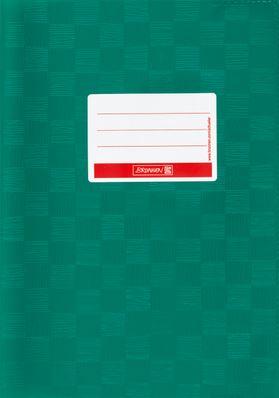 Hefthülle A5 dunkelgrün Folie mit Schild 104052558