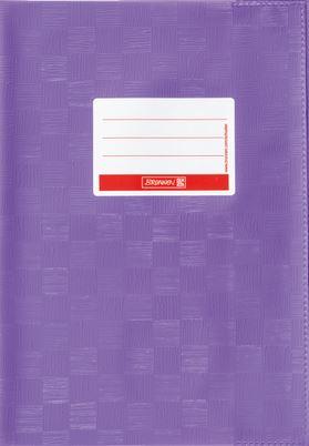 Hefthülle A5 violett Folie mit Schild 104052560