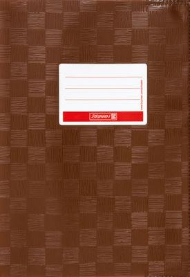 Hefthülle A5 braun Folie mit Schild 104052570