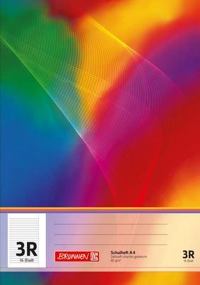 Schulheft A4 Lineatur 3R 16 Blatt 104490323