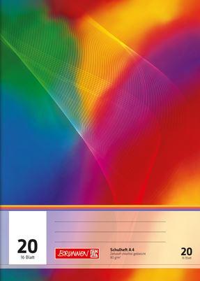 Schulheft A4 Lineatur 20 16 Blatt 104492002