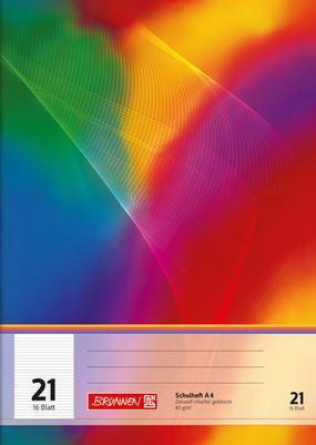 Schulheft A4 Lineatur 21 16 Blatt 104492102