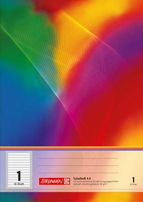 Schulheft A4 Lineatur 1 KVA 16 Blatt 104498102