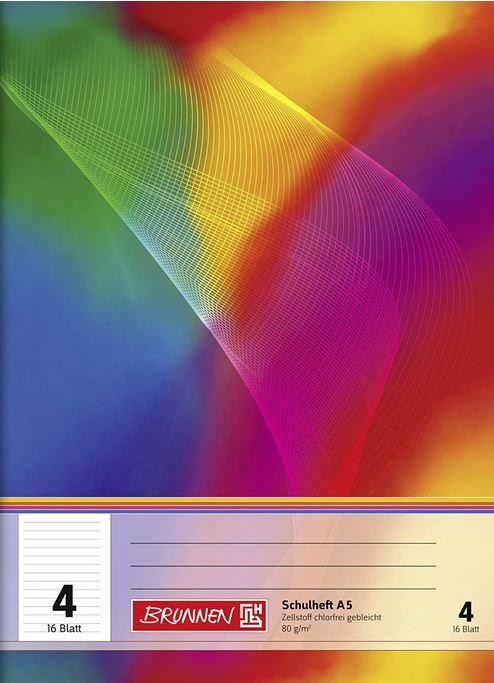Schulheft A5 Lineatur 4 16 Blatt 104590402