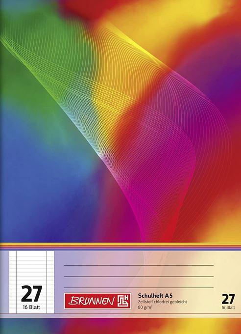 Schulheft A5 Lineatur 27 16 Blatt 104592702