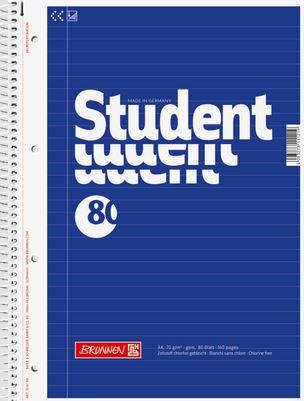 Collegeblock A4 liniert 80 Blatt 1067941