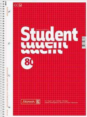 College Block A4 kariert 80 Blatt  1067942