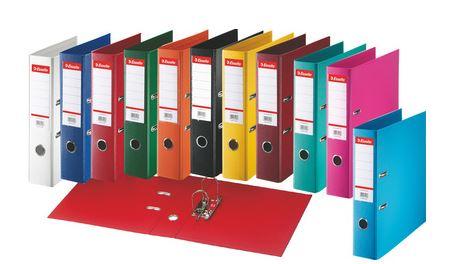 Esselte Plastik-Ordner Standard, DIN A4, 50 mm, fuchsia
