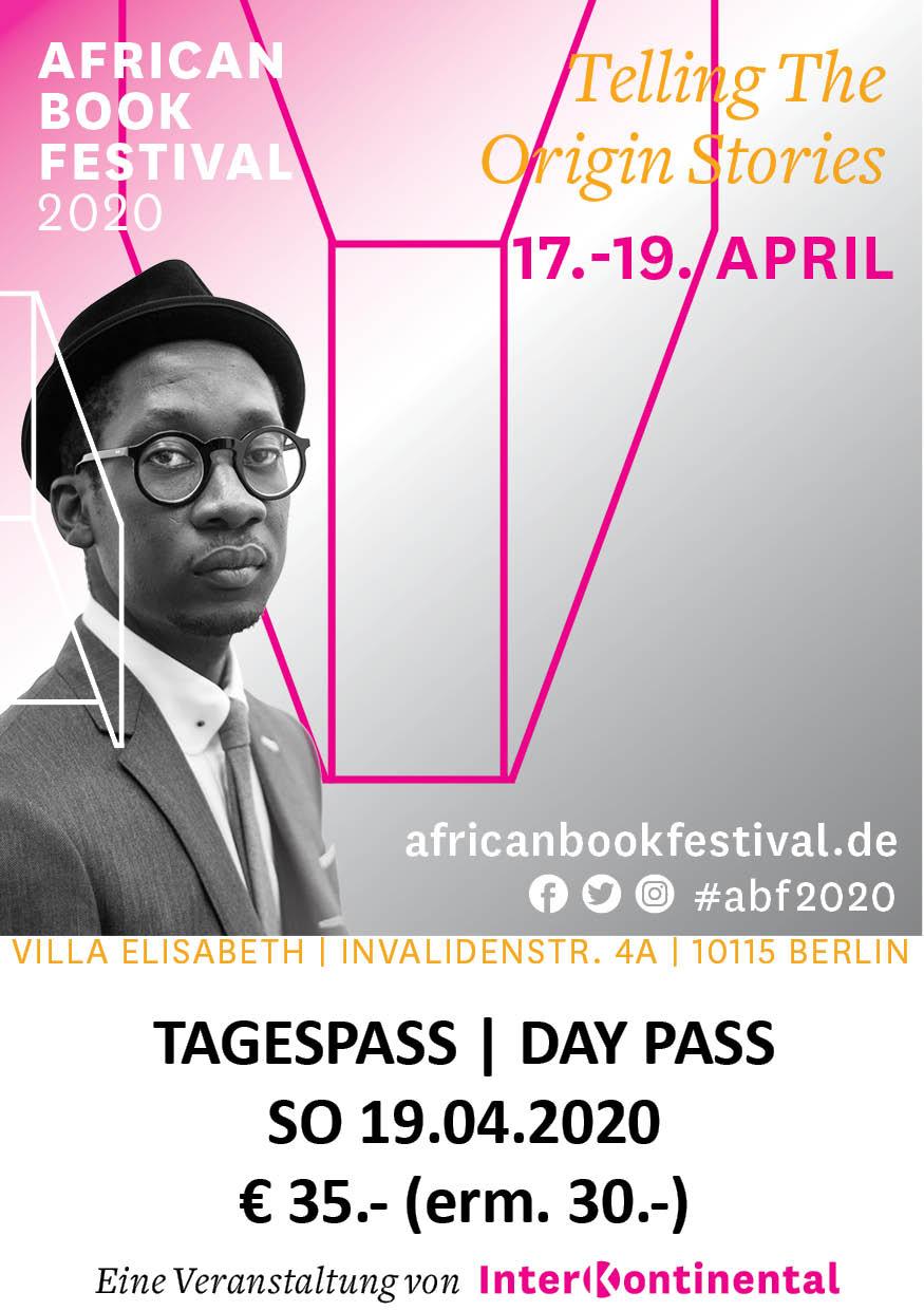 Tagespass | Day Pass 19.04.2020