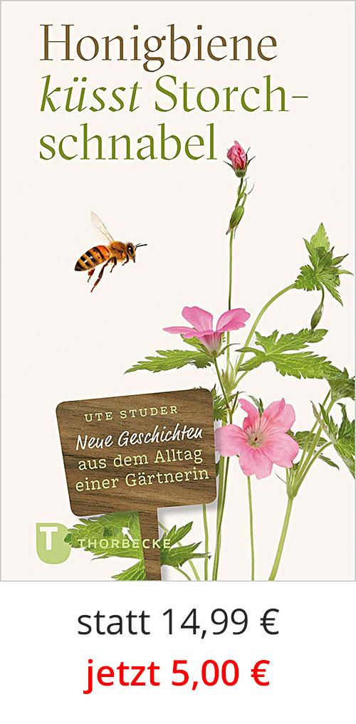 Honigbiene küsst Storchschnabel - Cover