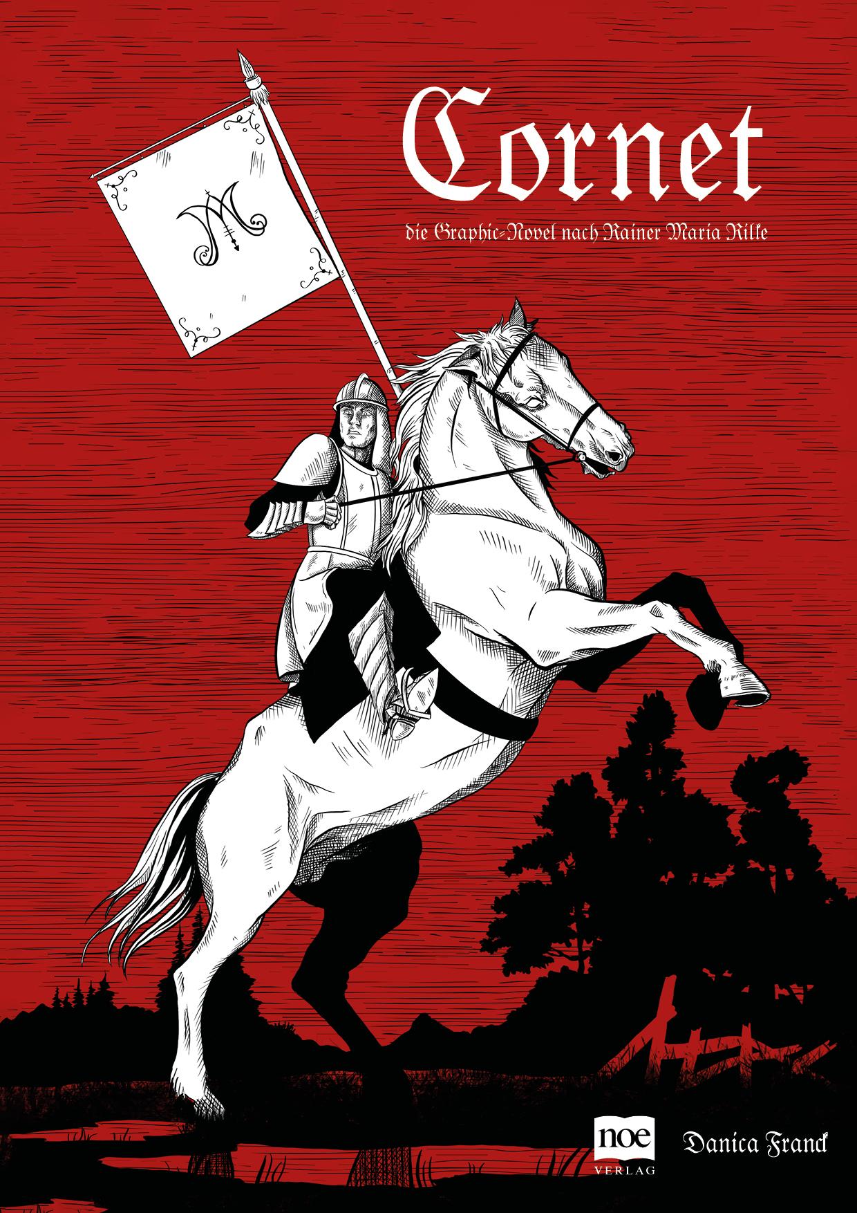 Cornet - Die Graphic Novel - Cover