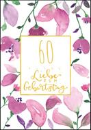 60 - Alles Liebe zum Geburtstag