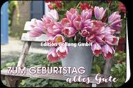 Zum Geburtstag alles Gute -Tulpen