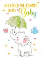 Herzlich Willkommen kleines Baby