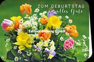 Zum Geburtstag alles Gute - Bunter Frühlingsstrauss
