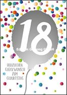 18 - Herzlichen Glückwunsch zum Geburtstag