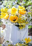 Gelber Frühlingsstrauss